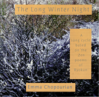 CD Cover for the Long Winter Night by Emma Chopourian